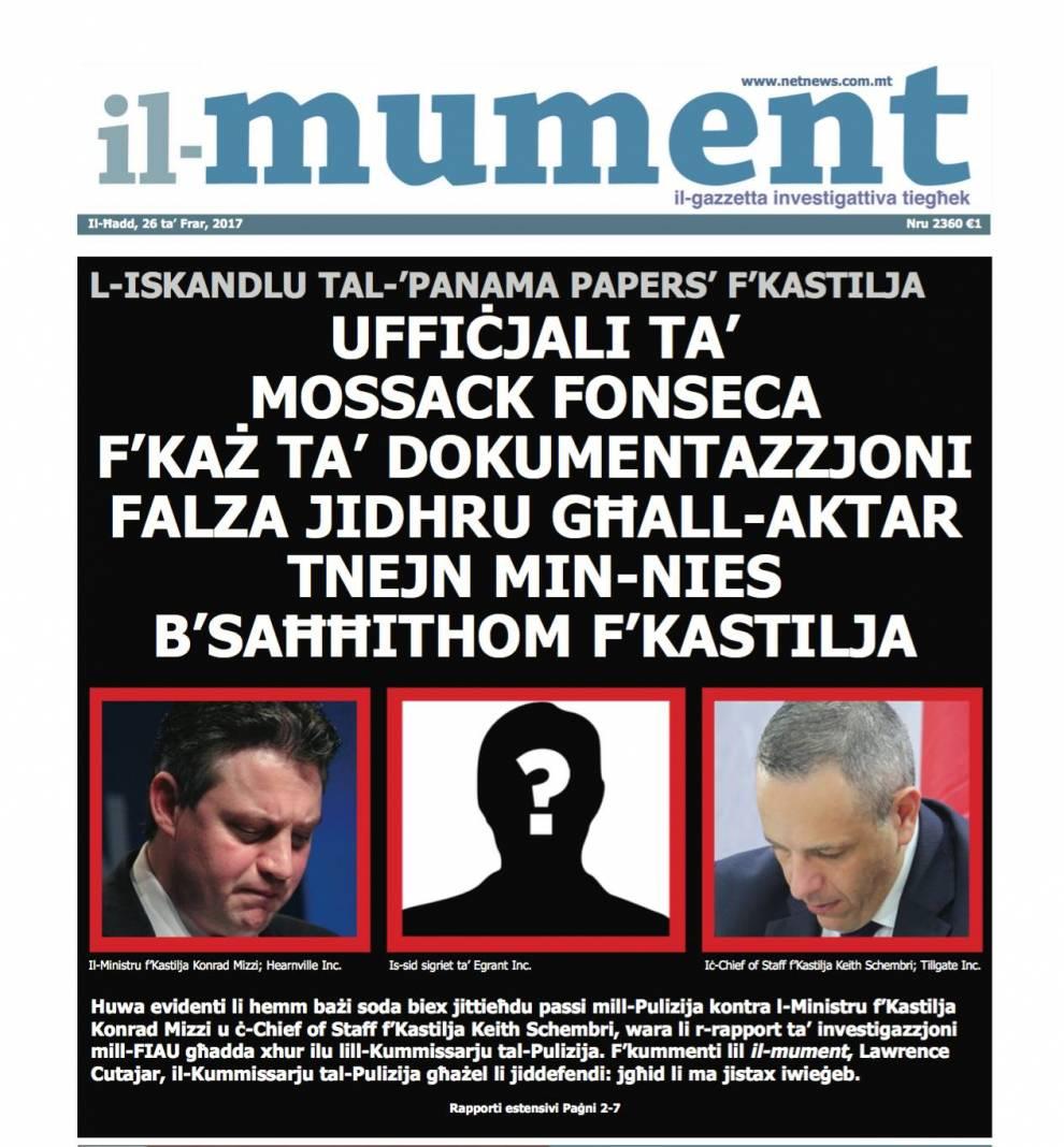 Il Faċċata Tal Gazzetta Il Mument Netnews
